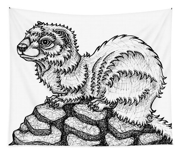 Weasel Tapestry