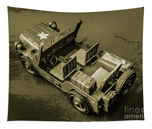 Weathered Defender Tapestry
