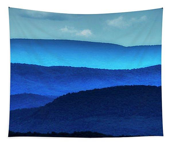 West Virginia Ridges Of Blue Tapestry