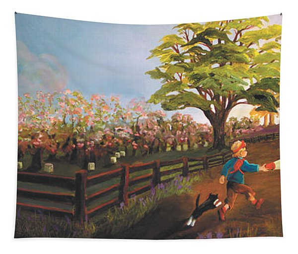 West Barn Tapestry