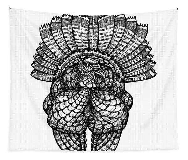 Wild Turkey Tapestry