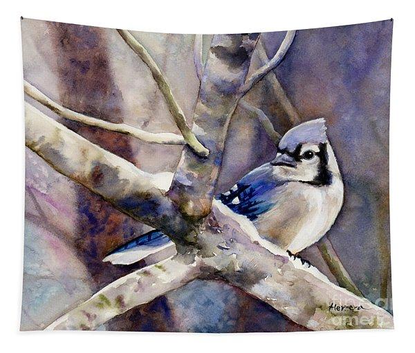 Winter Jay Tapestry