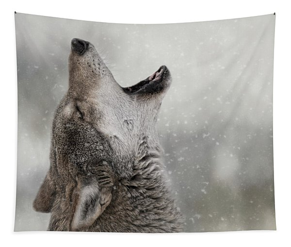 Catching Snowflakes  Tapestry