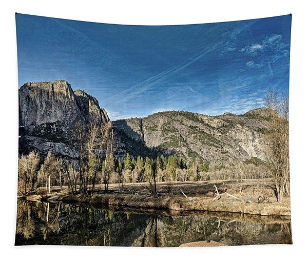 Yosemite Reflection Tapestry