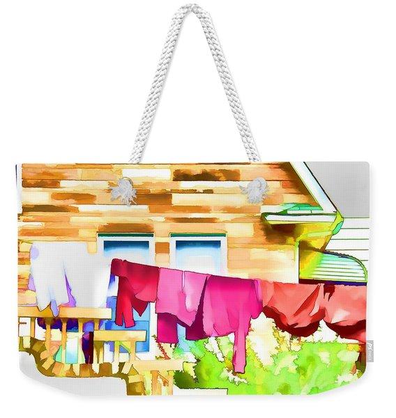 A Summer's Day - Digital Art Weekender Tote Bag