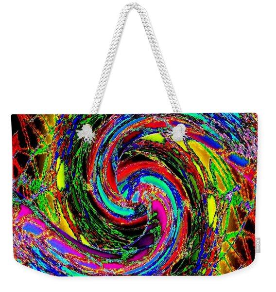 Abstract Fusion 215 Weekender Tote Bag