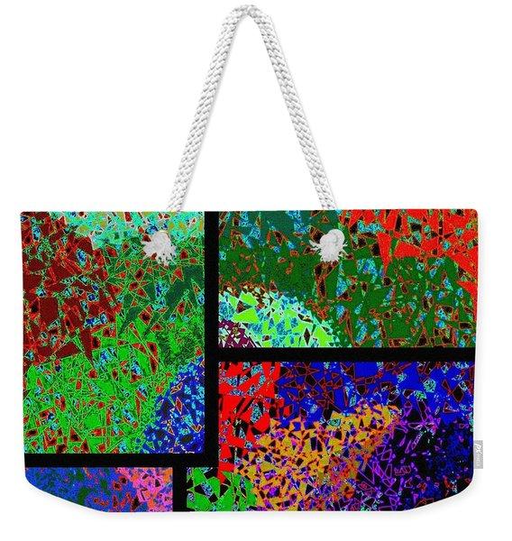 Abstract Fusion 86 Weekender Tote Bag