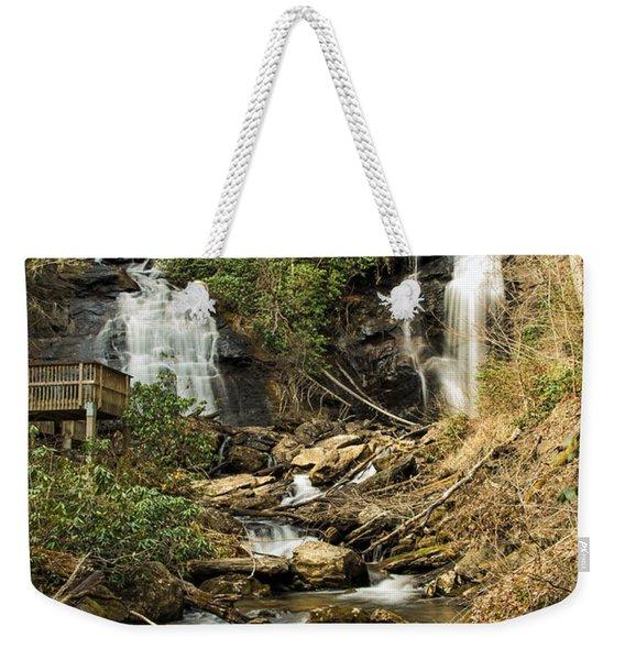 Amacola Falls Weekender Tote Bag