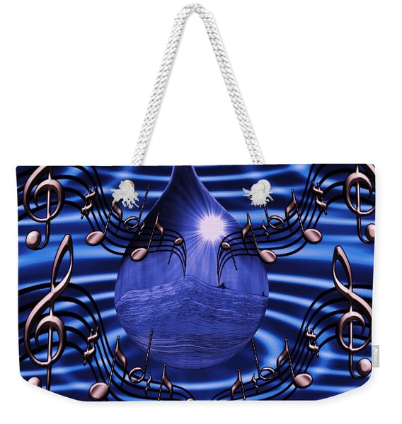 Angelic Sounds On The Waves Weekender Tote Bag