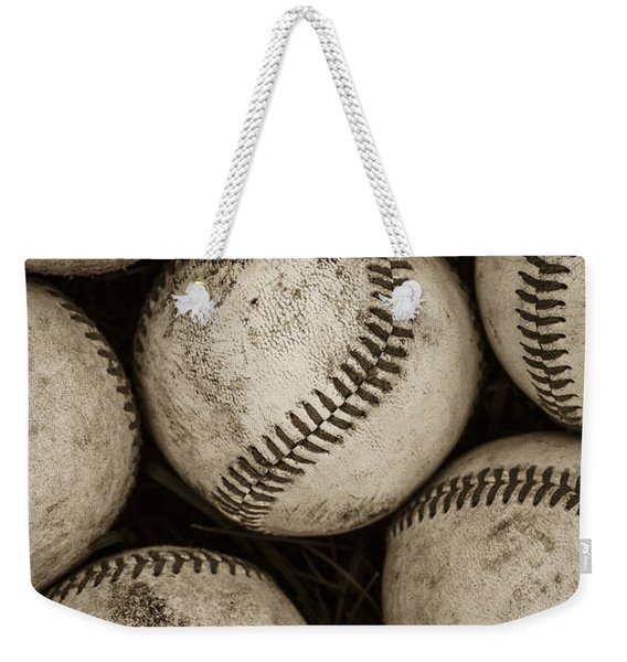 Baseballs Weekender Tote Bag