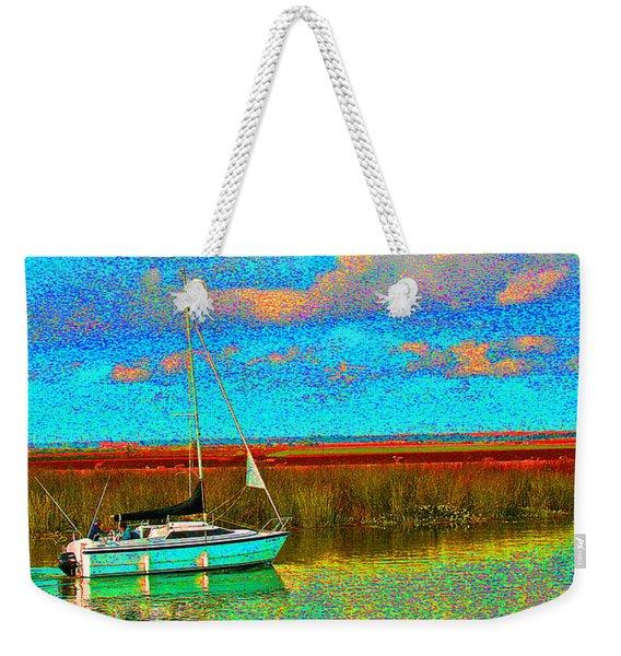 Blue Skys And Sailors  Weekender Tote Bag