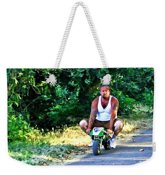 Born 2 Ride Weekender Tote Bag