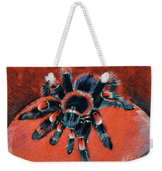 Brachypelma Smithi Redknee Tarantula  Weekender Tote Bag