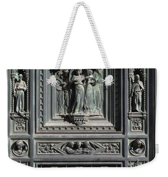 Cathedral Door Weekender Tote Bag
