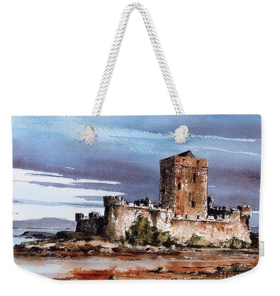Doe Castle In Donegal Weekender Tote Bag