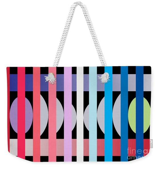 Fun Geometric  Weekender Tote Bag