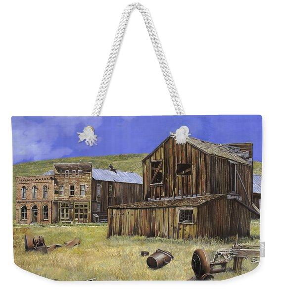 Ghost Town Of Bodie-california Weekender Tote Bag