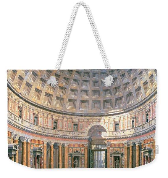 Interior Of The Pantheon Weekender Tote Bag