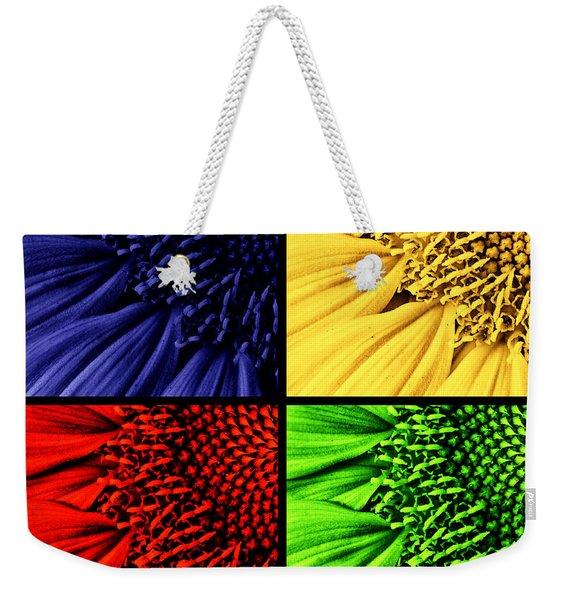 Sunflower Medley Weekender Tote Bag