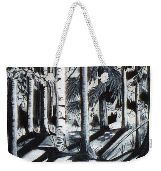 Take The Maine Path Weekender Tote Bag