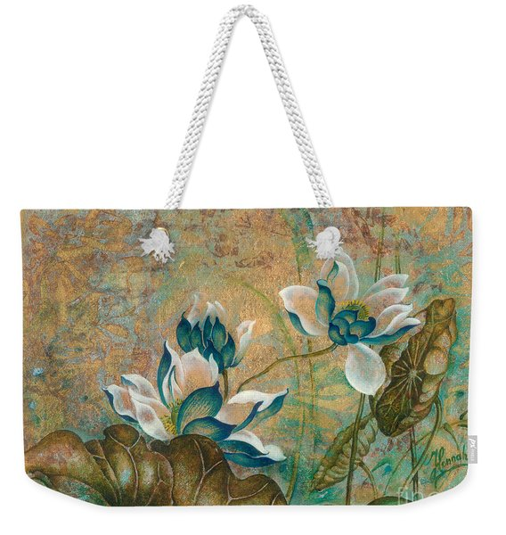 The Turquoise Incarnation Weekender Tote Bag