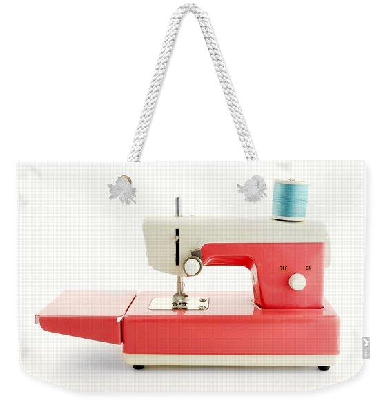 Toy Sewing Machine Weekender Tote Bag