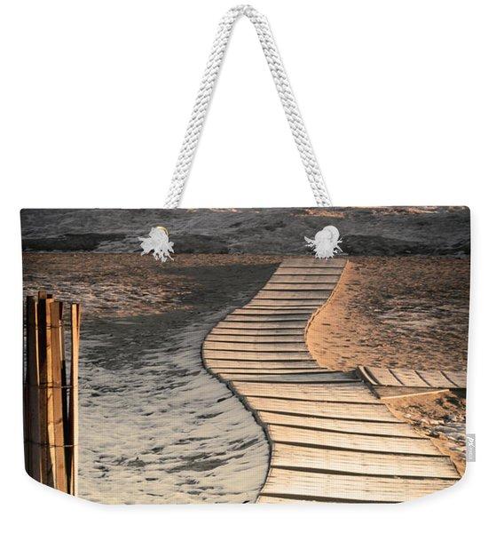 0160 Evanston Boardwalk Weekender Tote Bag