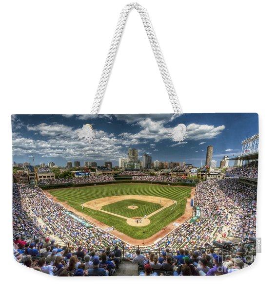 0234 Wrigley Field Weekender Tote Bag