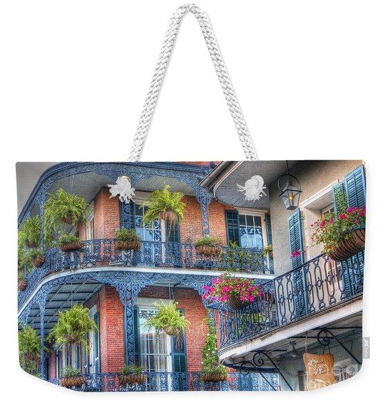 0255 Balconies - New Orleans Weekender Tote Bag