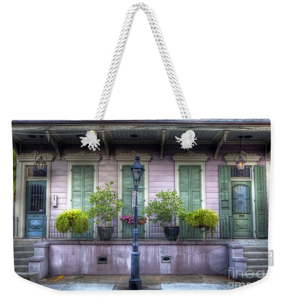 0267 French Quarter 5 - New Orleans Weekender Tote Bag