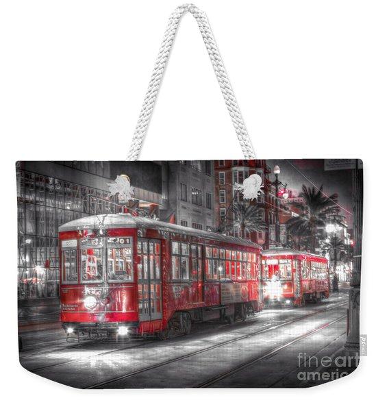 0271 New Orleans Street Car Weekender Tote Bag