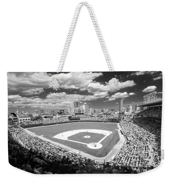 0416 Wrigley Field Chicago Weekender Tote Bag