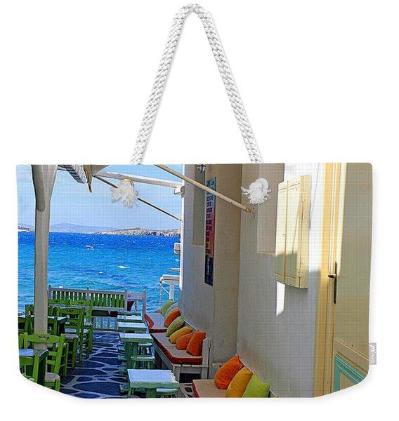 0560 Mykonos Greece Weekender Tote Bag