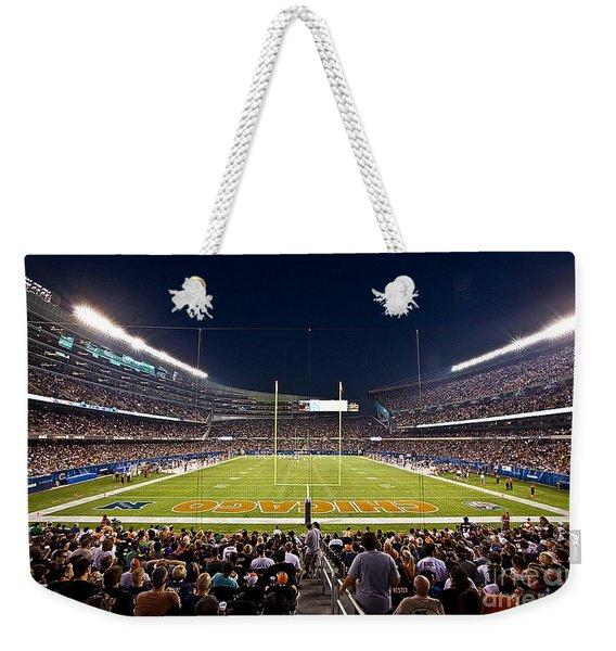 0588 Soldier Field Chicago Weekender Tote Bag