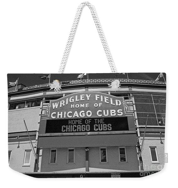 0600 Wrigley Field Weekender Tote Bag