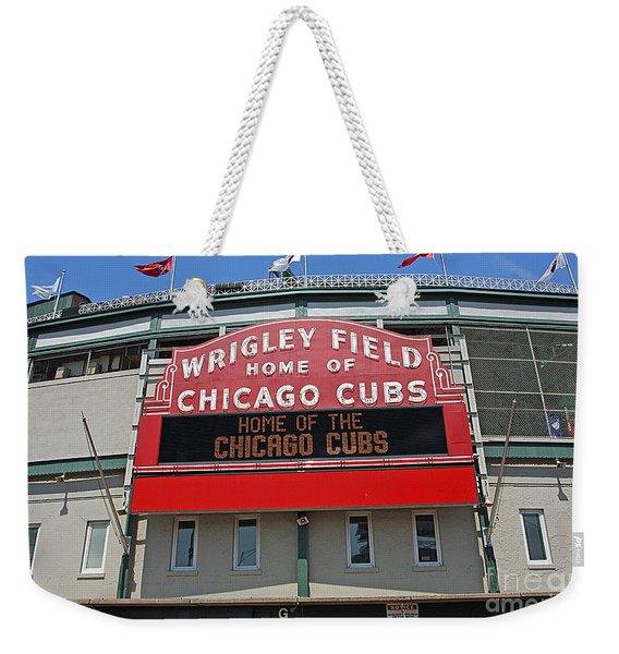 0601 Wrigley Field Weekender Tote Bag
