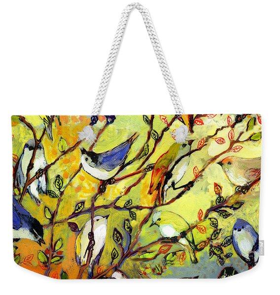 16 Birds Weekender Tote Bag