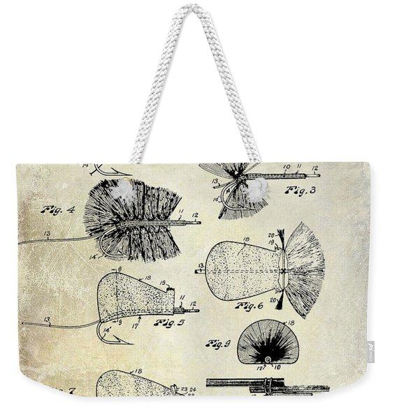 1934 Fly Fishing Lures  Weekender Tote Bag