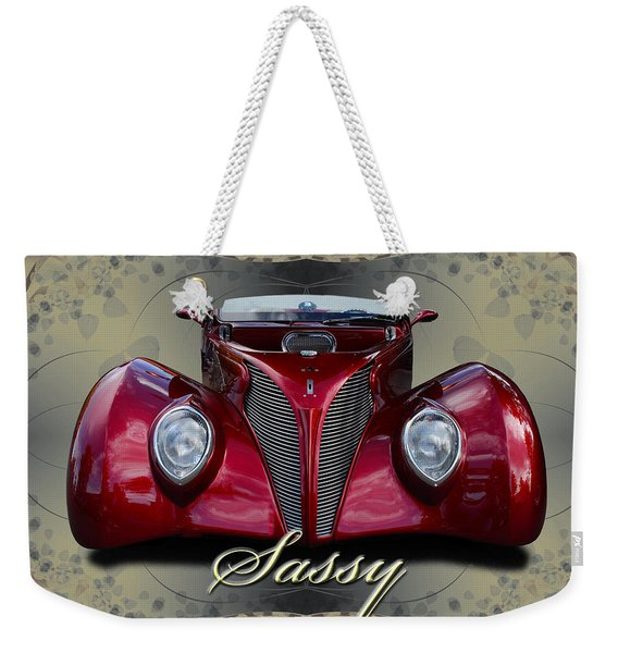 1939 Ford Coupe Weekender Tote Bag
