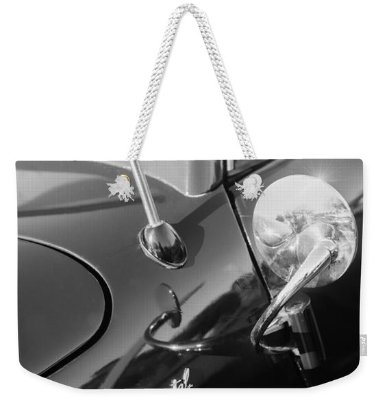 1941 Lincoln Continental Convertible Emblem Weekender Tote Bag