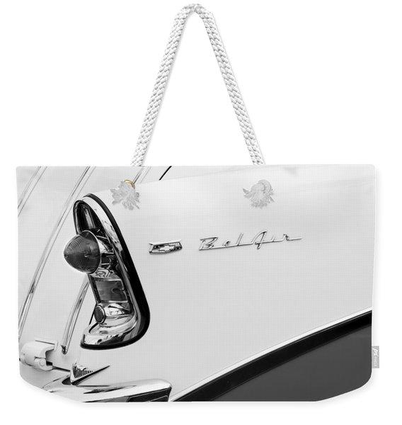 1956 Chevrolet Belair Tail Light Weekender Tote Bag