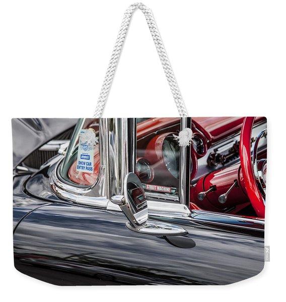 1957 Chevrolet Bel Air Weekender Tote Bag