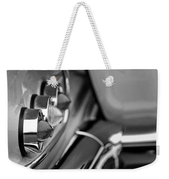 1958 Chevrolet Impala Tail Lights Weekender Tote Bag