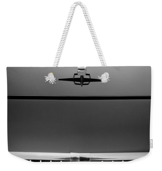 1961 Lincoln Continental Hood Ornament Weekender Tote Bag