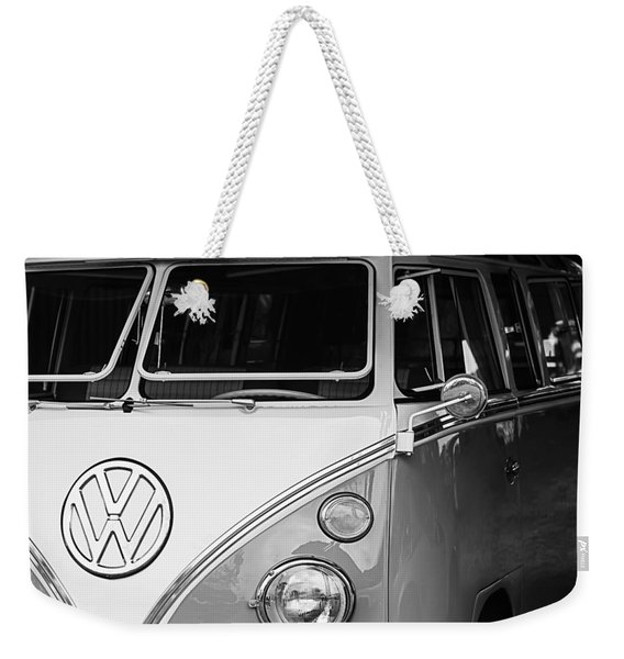 1964 Volkswagen Vw Samba 21 Window Bus Weekender Tote Bag