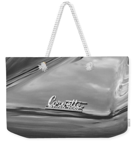 1966 Chevrolet Corvette Tail Lights Weekender Tote Bag