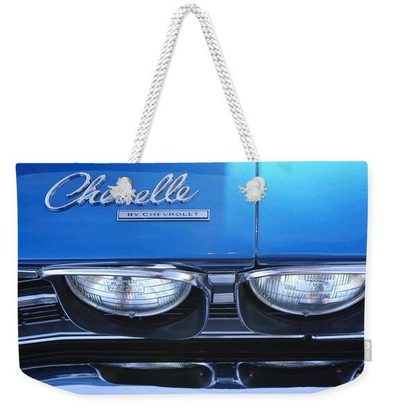 1969 Chevrolet Chevelle Emblem Weekender Tote Bag