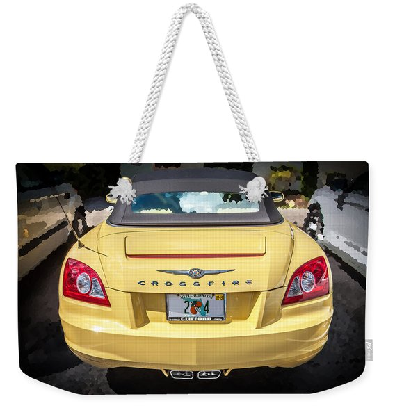 2008 Chrysler Crossfire Convertible  Weekender Tote Bag