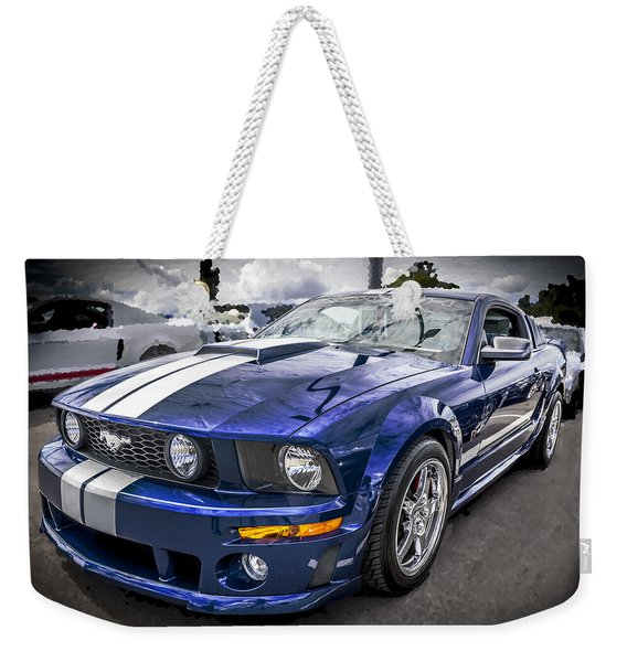 2008 Ford Shelby Mustang With The Roush Stage 2 Package Weekender Tote Bag