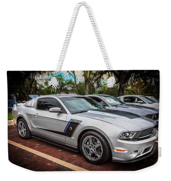2012 Ford Roush Stage 3 Mustang Rs3 Painted  Weekender Tote Bag